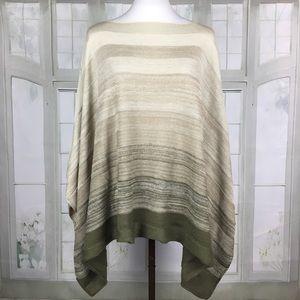 New!  New York & Company Poncho Sweater One Size